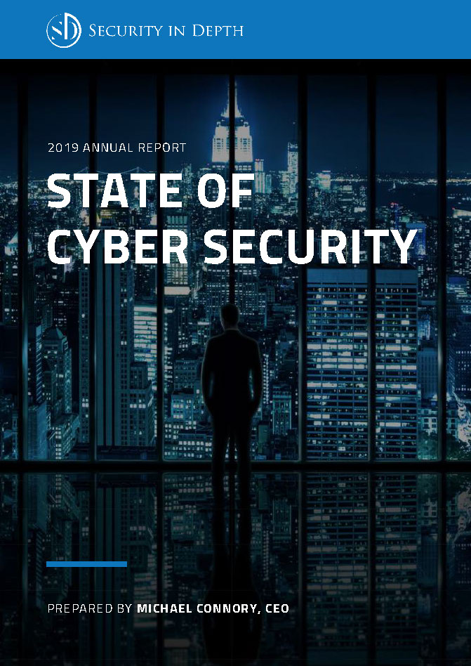 Pages from Security In Depth - 2019 State of Cybersecurity